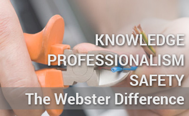 The Webster Difference - top electricians in Kalamazoo